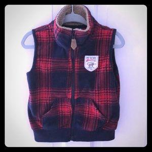 Carter's fleece vest.